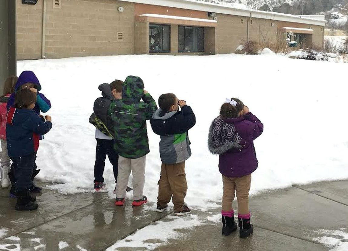 Idaho Museum of Natural History, Charter School Team Up for Winter Science