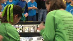 36 Vision Charter Students Attend First Lego League Robotics Regionals