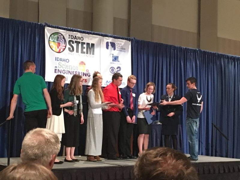 Vision Charter Students Receive Top Awards at the Idaho Science & Engineering Fair