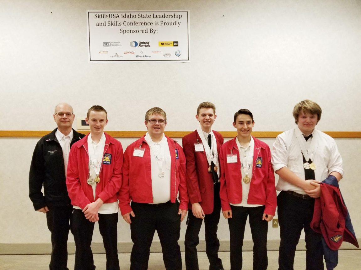 PR2TA students take gold at SkillsUSA State Conference